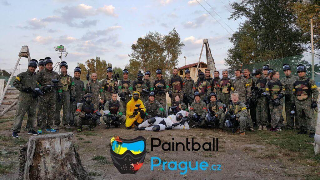 firemni akce team building paintball prague praha