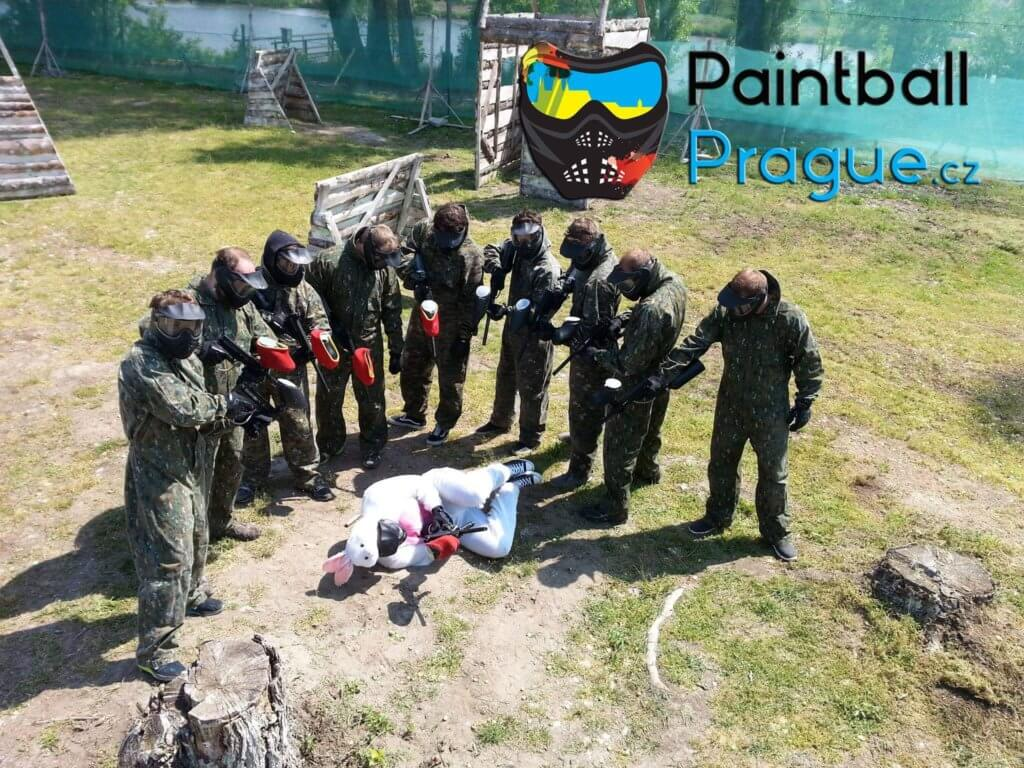 paintball Prague Prag outdoor party