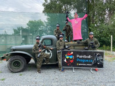 paintball in prague stag party